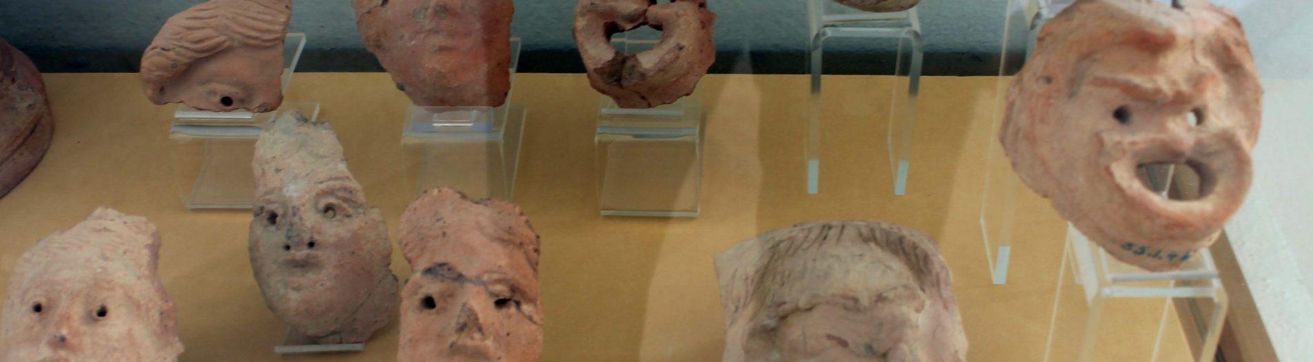 Les masques et les protomés humains puniques