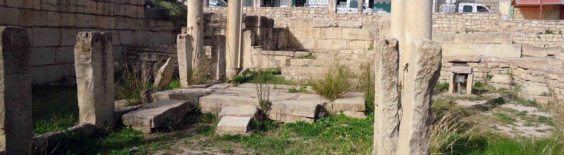 Les vestiges de la ville de Thala