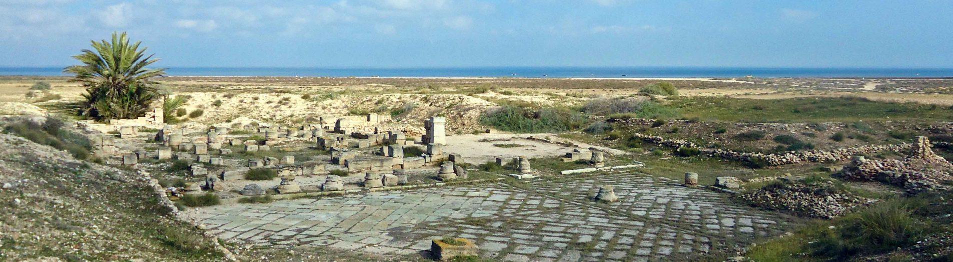Le site archéologique d'Acholla à Sfax