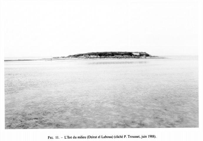Les îles Kneiss à Sfax
