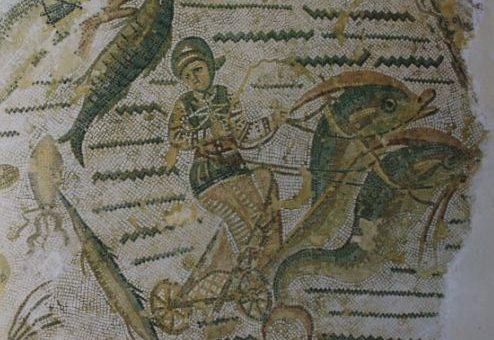 La mosaïque des grands thermes de Thyna
