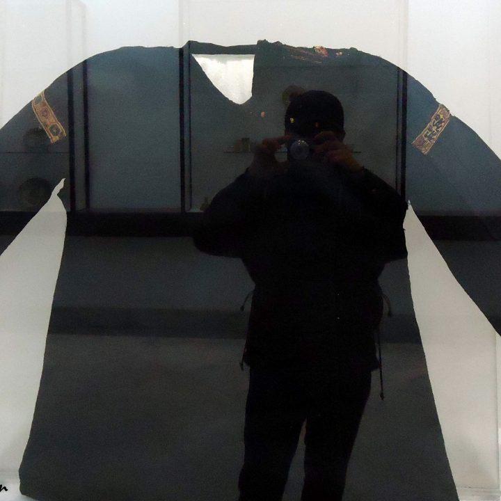 Un vêtement islamique ancien du musée du Bardo