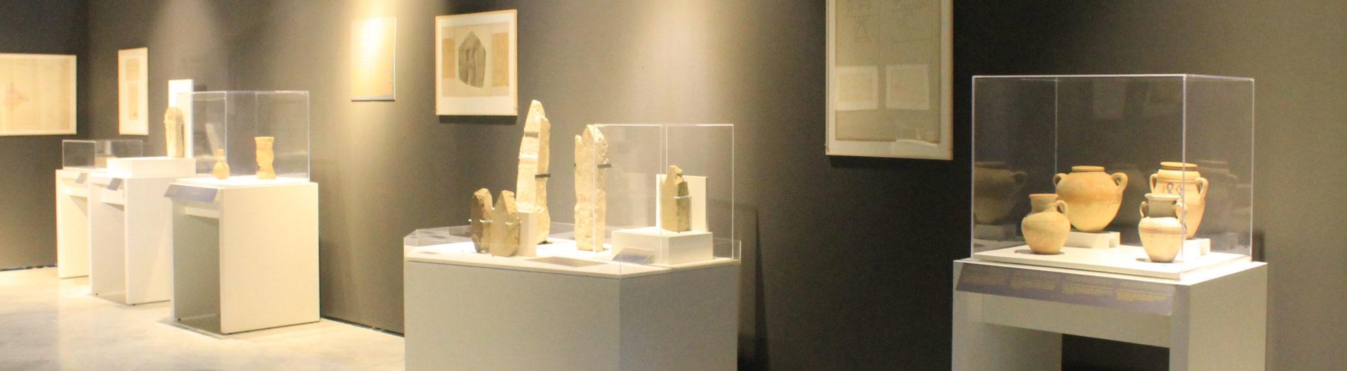 Humbert en Tunisie, au musée du Bardo