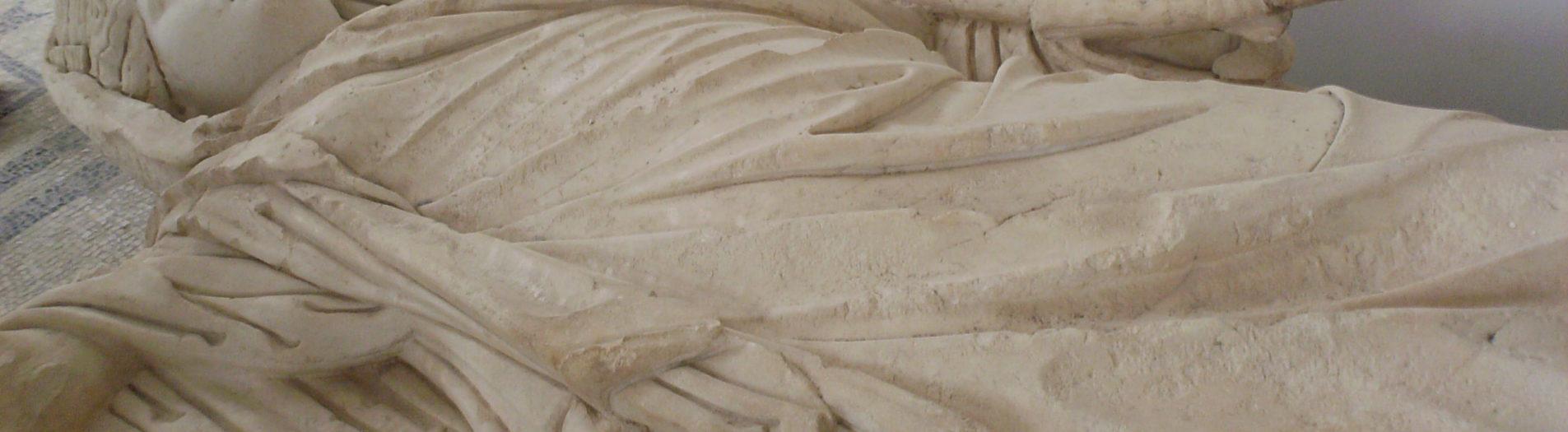 Des statues et des bustes du musée du Bardo