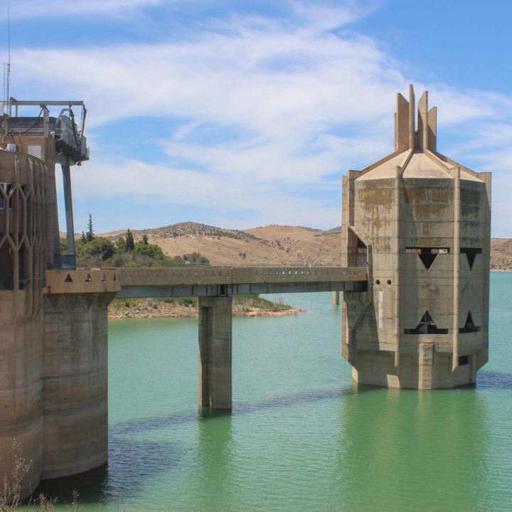 Barrage Sidi Salem سد سيدي سالم