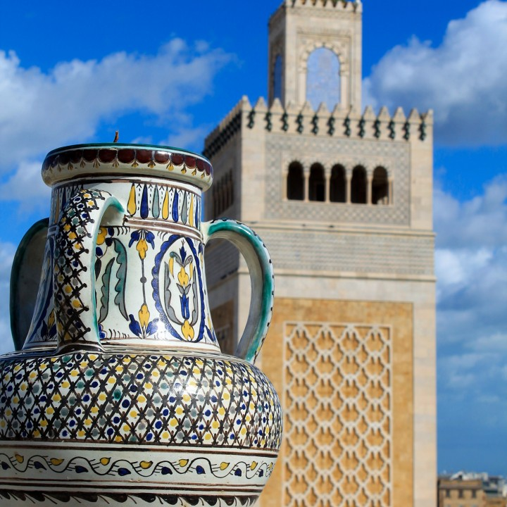 La médina de Tunis مدينة تونس