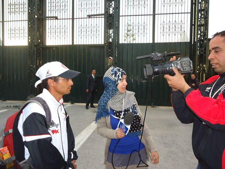 Sfax Tunis à pieds Hannibal TV