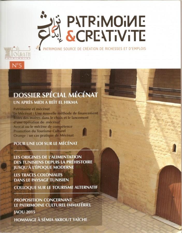 Patrimoine et créativité