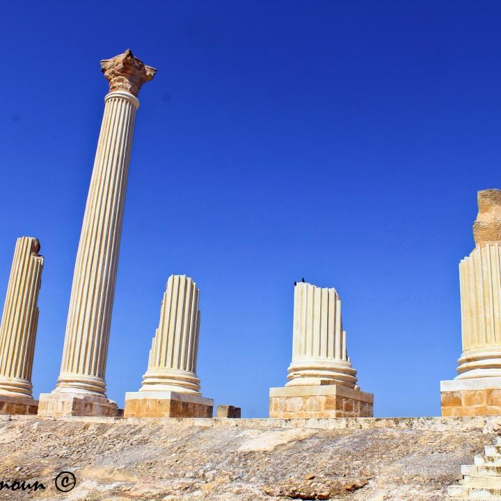 Le site archéologique d'Oudhna