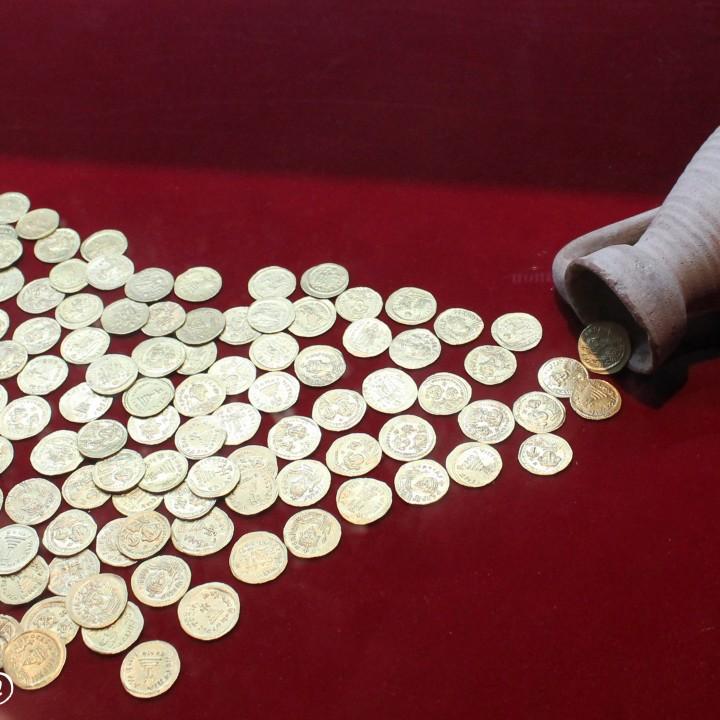 Les trésors monétaires trouvés en Tunisie