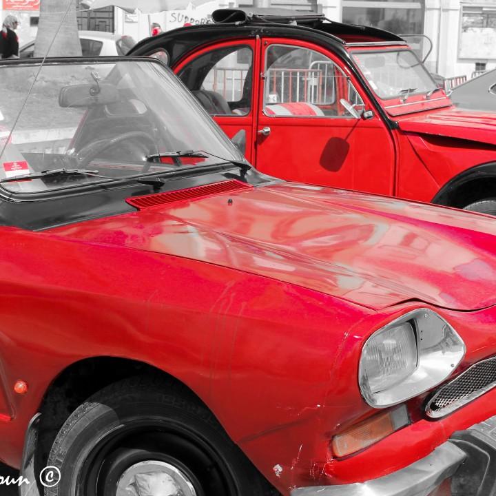 Anciennes voitures à Sfax