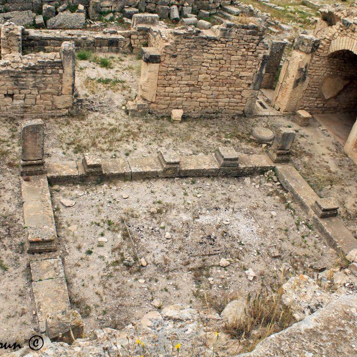 La maison de Dionysos et d'Ulysse de Dougga
