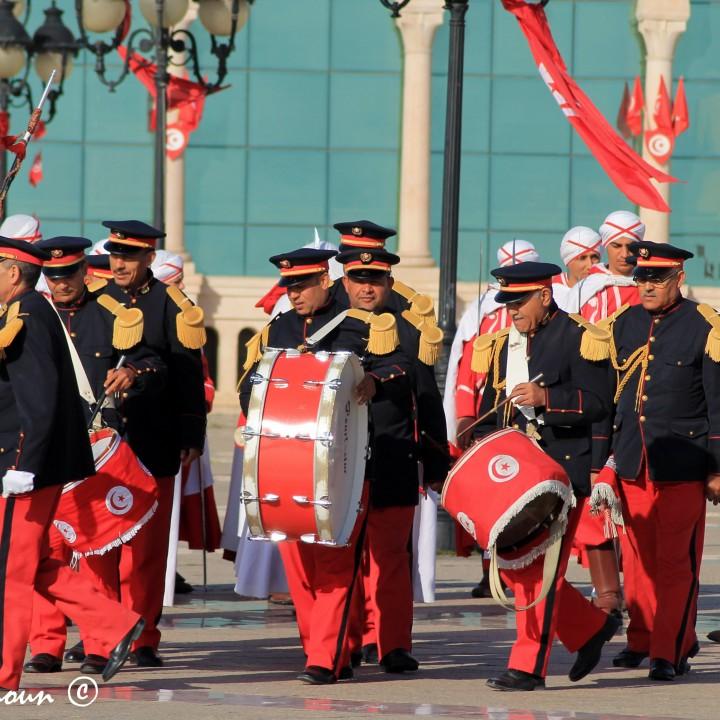 الموسيقى العسكرية بتونس عبر التاريخ