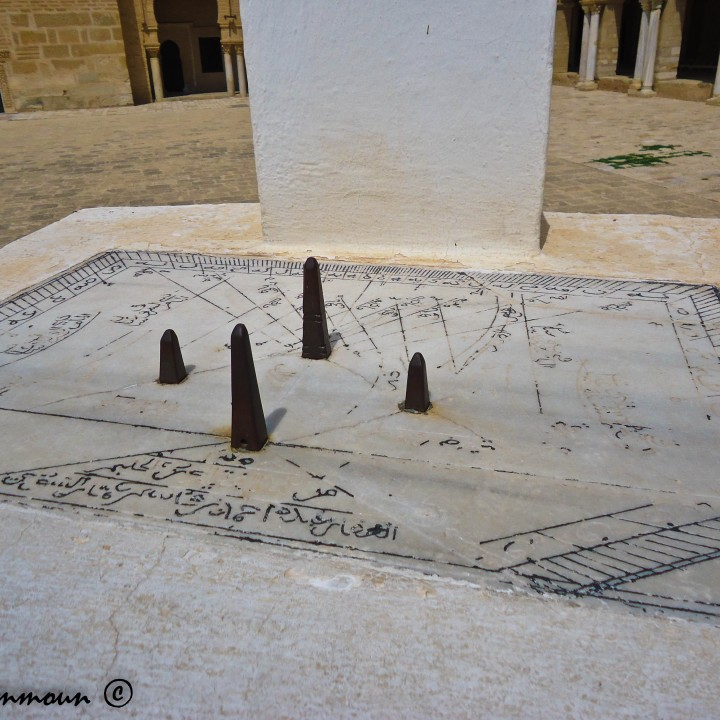 Des cadrans solaires de la Tunisie ساعات شمسية من تونس