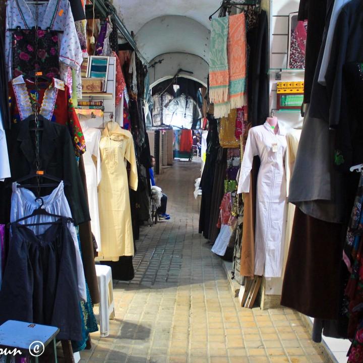 Souk des étoffes de Sfax سوق الربع بصفاقس