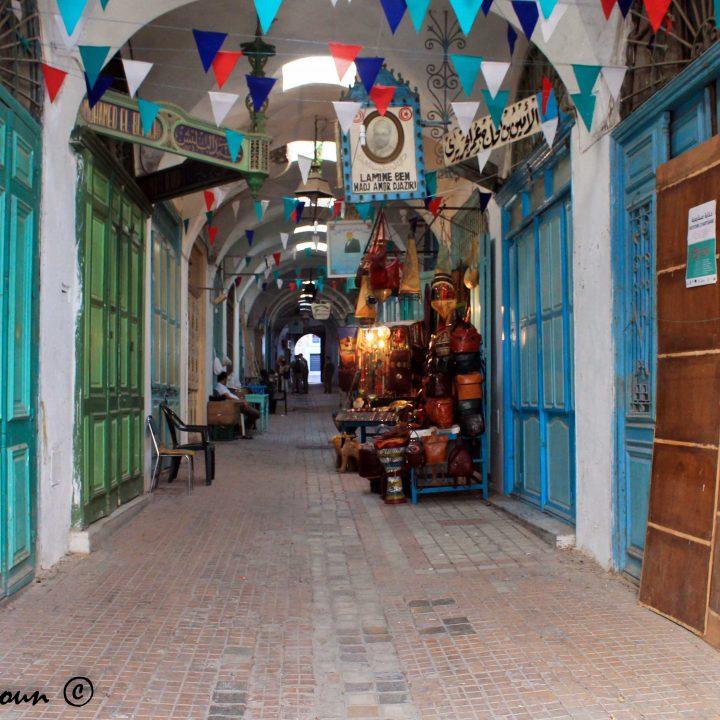 سوق الشواشين بمدينة تونس