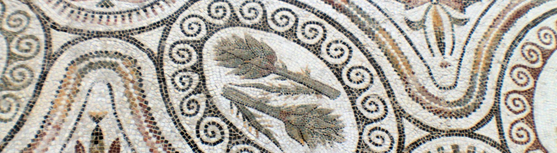 L'artichaut dans la mosaïque romaine en Tunisie
