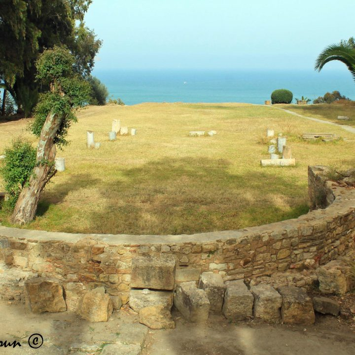 La basilique de Saint Cyprien de Carthage