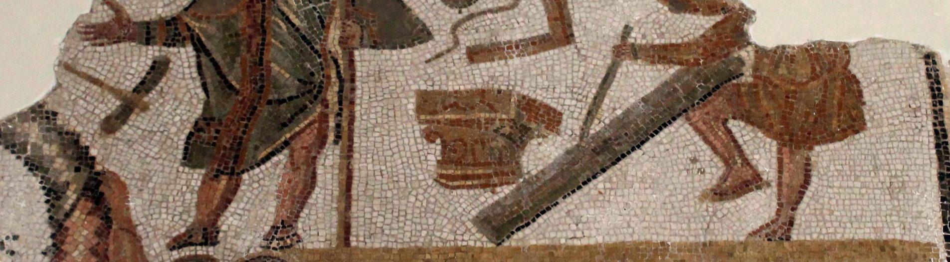 La mosaïque d'Oued Rmel de Zaghouan