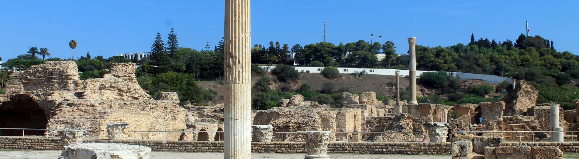 Les thermes d'Antonin à Carthage