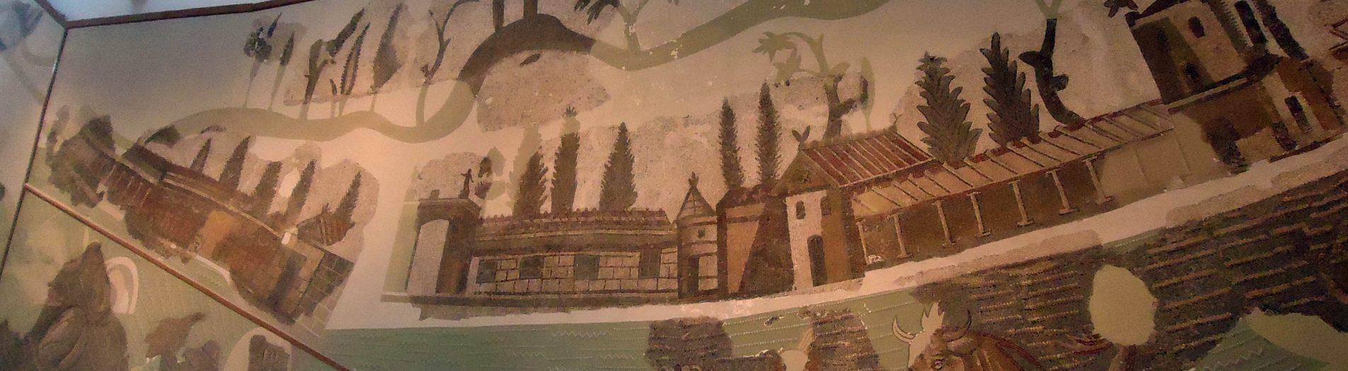 La mosaïque de l'exèdre de Carthage