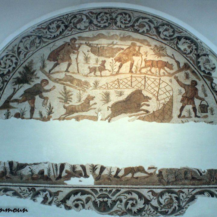 La chasse dans les mosaïques romaines en Tunisie