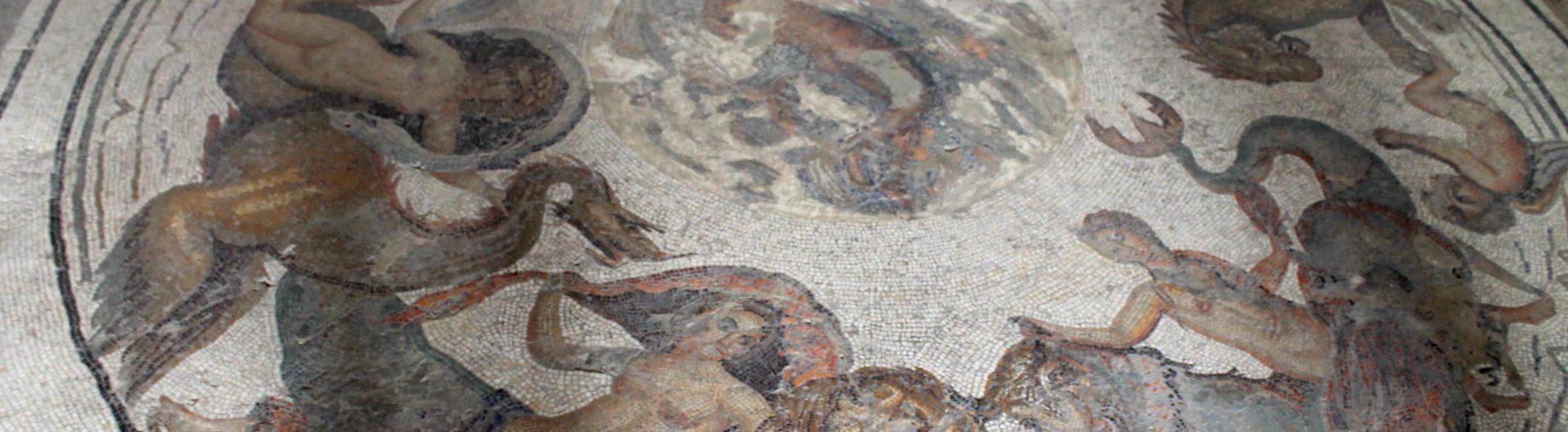 La mosaïque des Néréides de Dougga