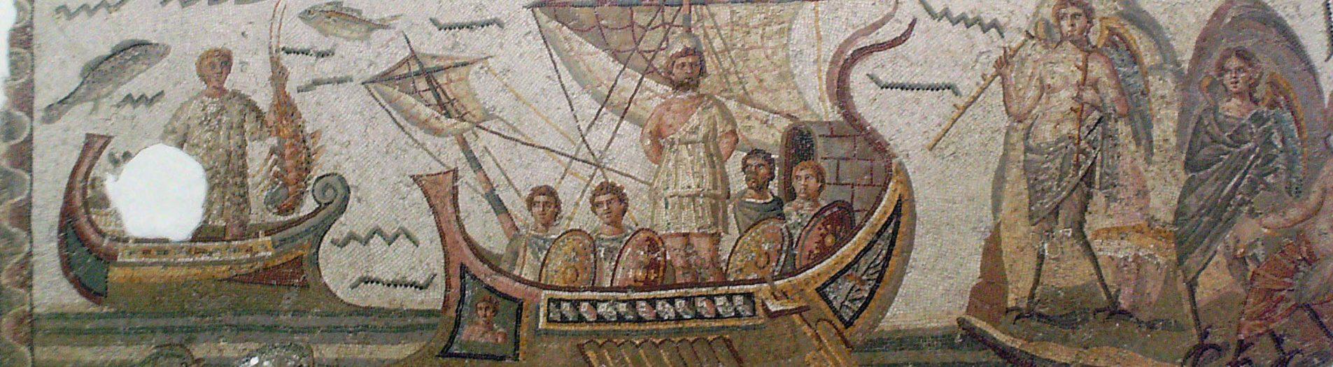 La mosaïque d'Ulysse de Dougga