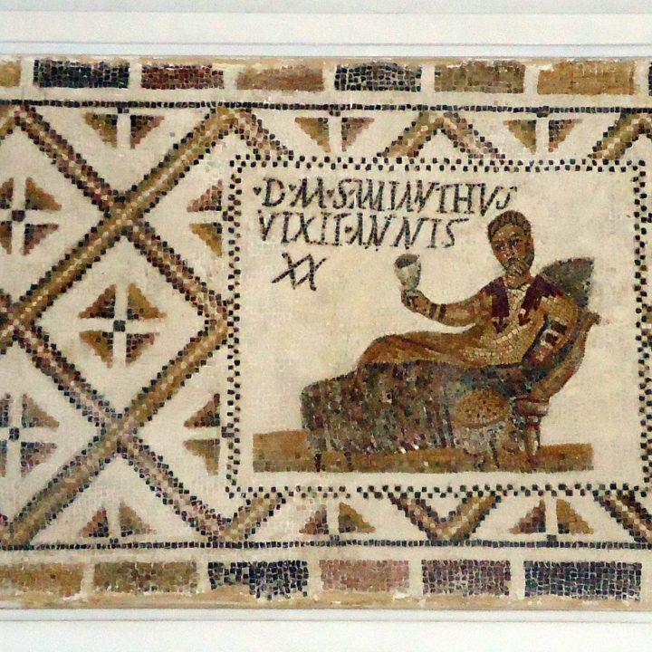Les mosaïques tombales païennes de Thyna à Sfax