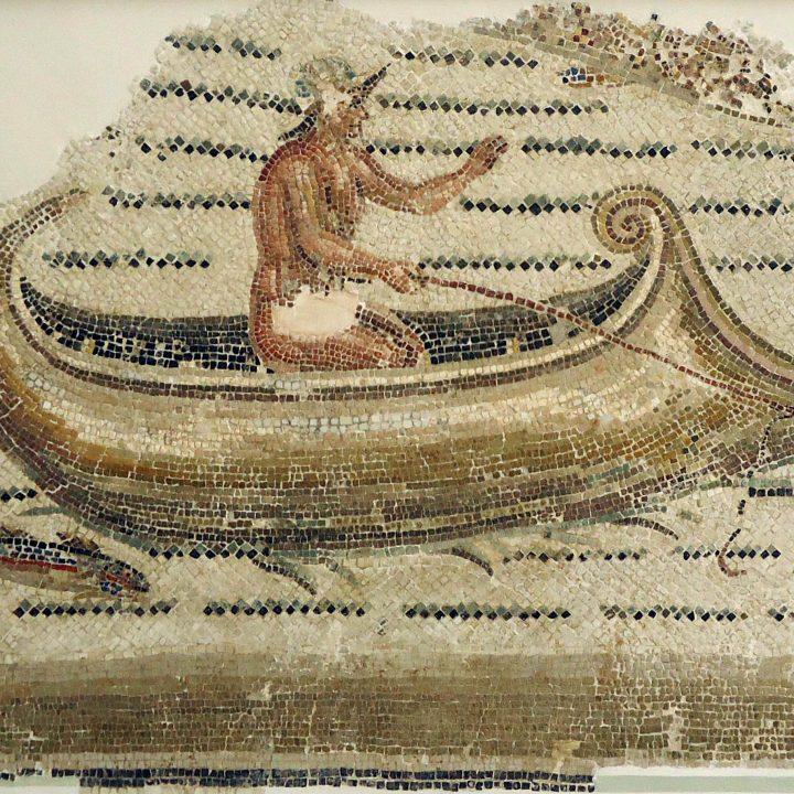 Les scènes de pêche et le commerce maritime dans les mosaïques romaines