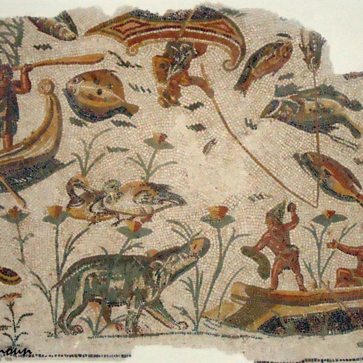Les paysages nilotiques dans la mosaïque romaine en Tunisie