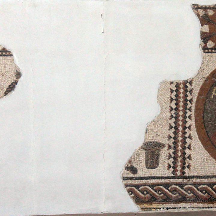 La mosaïque du célèbre auteur grec Xénophon