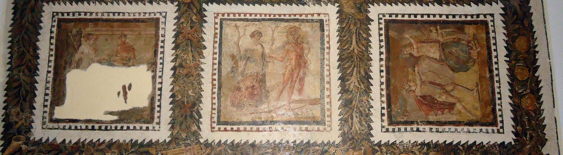 La mosaïque des scènes galantes d'el Jem
