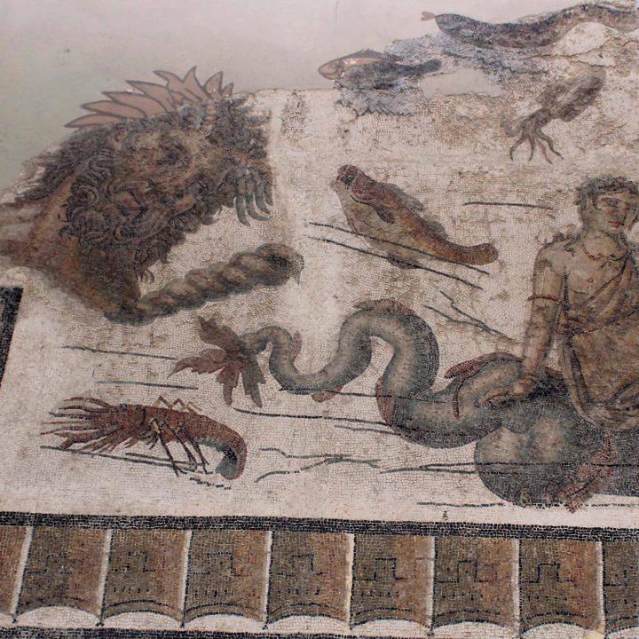 La mosaïque du dieu Vent de Radès