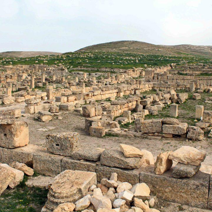 Le site archéologique d'Althiburos ou el Mdeina