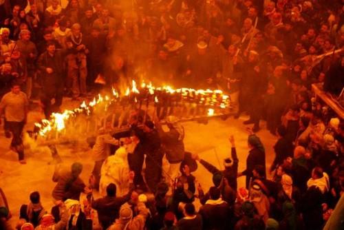 الاحتفال بعاشوراء في تونس