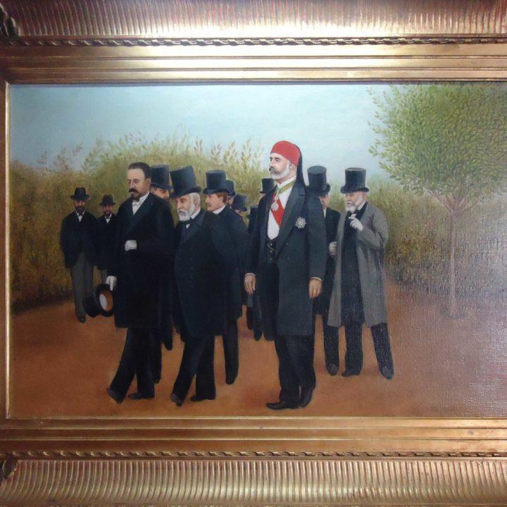 Mémoire de la Tunisie à partir des tableaux de peinture « De Kheireddine à Bourguiba »