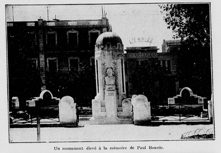 Le monument Paul Bourde à Sfax