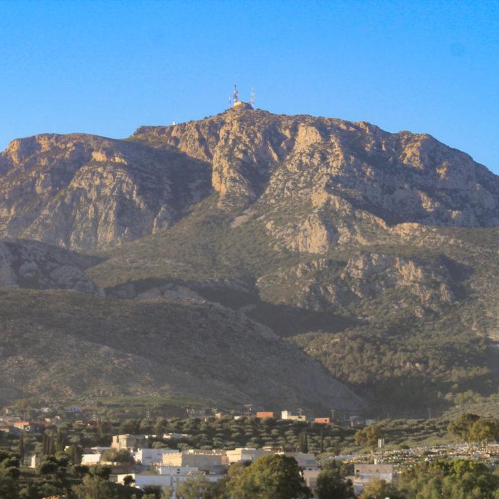 Le parc national de Djebel Zaghouan